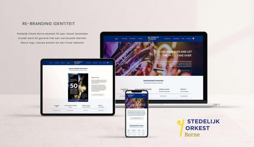 Een merk met een professionele uitstraling, Stedelijk Orkest Borne