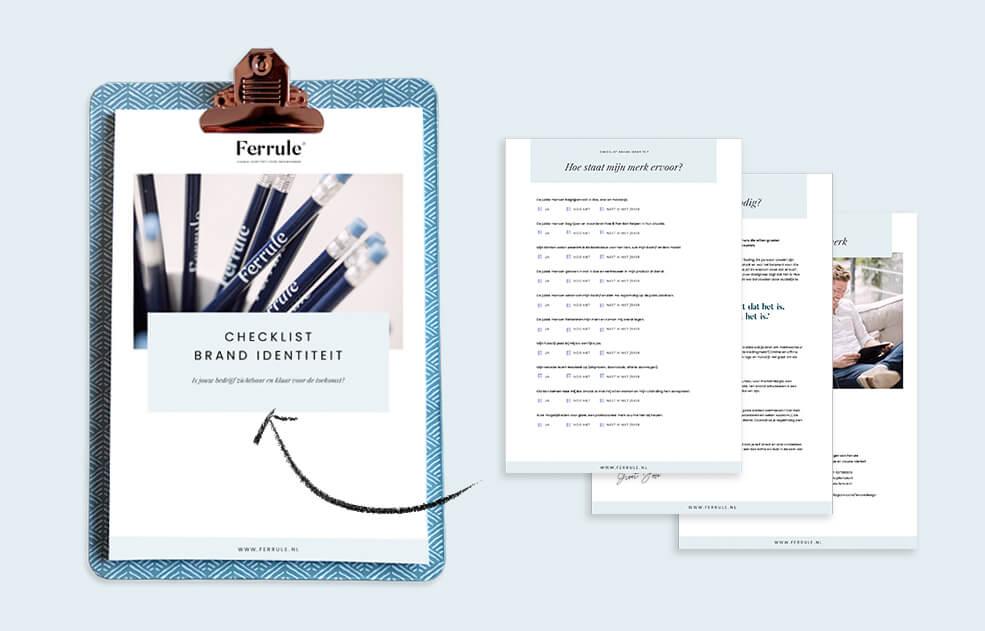 Een checklist om de identiteit van je merk te toetsen
