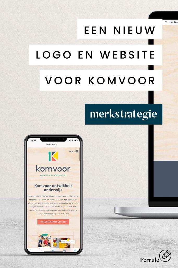 merkstrategie doormiddel van een nieuwe website en logo, ferrule enschede