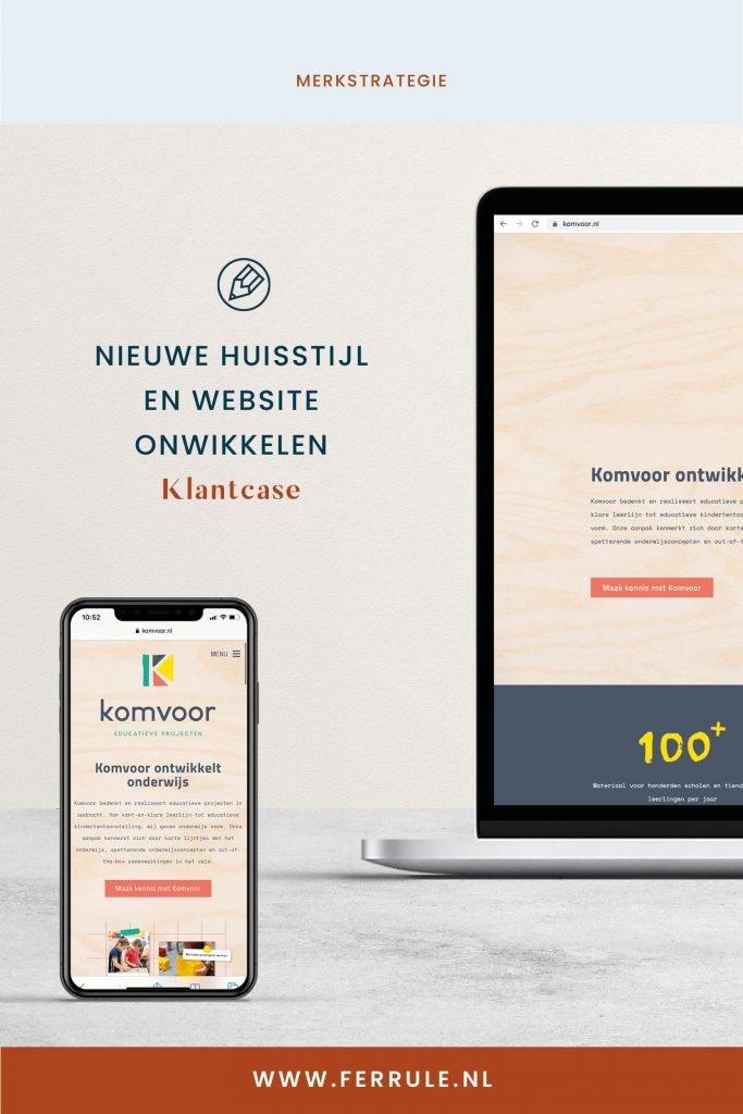 Nieuwe huisstijl en website laten ontwikkelen, merkstrategie Enschede